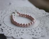 Baby Pearl Bracelet Pink