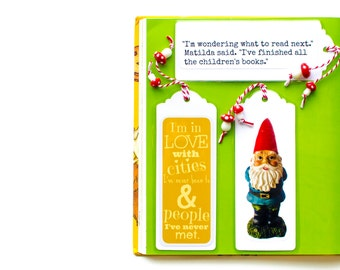 Gnome & Toadstool Bookmark