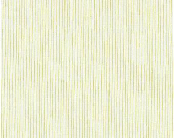 Pencil Stripe in Green from Stof of Denmark