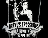 The Walking Dead daryl's crossbows t shirt