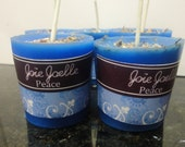 Peace Blue Spell Candles for relaxation, relieves stress, removes anxiety,  peaceful sleep, restore your spirit body mind