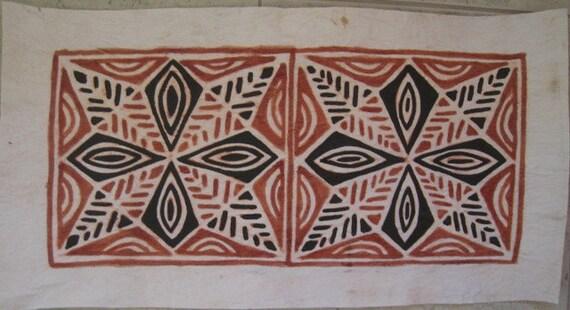 Items Similar To Polynesian Tapa Cloth Barkcloth Handmade