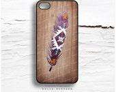 iPhone 6S Case, iPhone 6S Plus Case Aztec, TOUGH iPhone 5s Case Wood Print, iPhone 6 Case, Tribal iPhone 5C Case, Feather iPhone 6 Cover I83