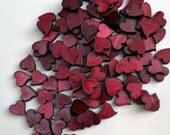 Table Scatter Wood Confetti Hearts (100). Wedding Decor. Valentine. Crafting.