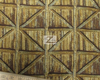 """Apple A Day Brown By Wilmington Prints 100% Cotton Fabric - 45"""" Width Sold By The Yard (FH-869)"""