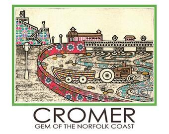 Cromer Travel Poster