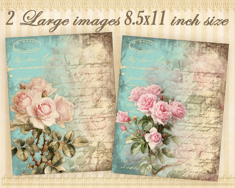 large transfer image 85x11 inch size greeting cards digital