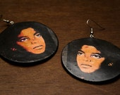 Michael Jackson Pop lassic Icon Earrings