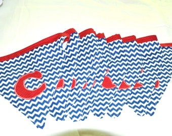 Celebrate Fabric Bunting, Banner, Pennant, Decor