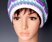 PDF Crochet Pattern File - Brynlee's Carousel Beanie - All Sizes