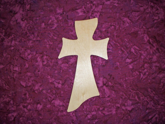 Unfinished Wooden Cross Crafts