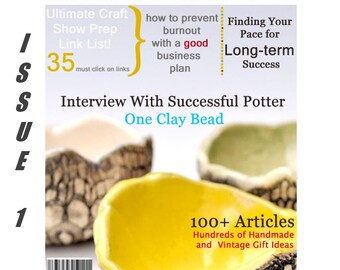 Handmadeology Magazine - Issue 1- Etsy Tips, Tricks, and Know-How