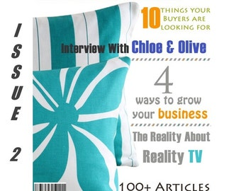 Handmadeology Magazine - Issue 2- Creative Business Owners - Quit Your Day Job