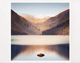 Ireland Photography, Nature Phtography, Lake House Decor, Lake House Wall Art, Fits IKEA RIBBA, Glendalough
