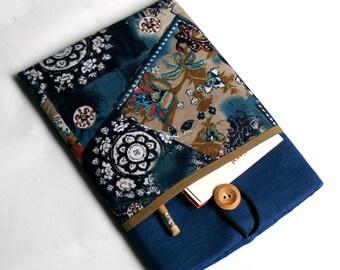 iPad Mini Cover, iPad Mini 2 Case, iPad Mini 3 Padded Fabric Sleeve with Pockets -SUPERIOR Shock Absorbent Padding - Designer Fabric