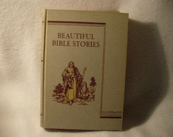 First Edition First Printing Author Signed Beautiful Bible Stories by Charles Roney