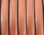 1 yard 1 meter 5mm flat camel brown  first quality leather cord,spacer, bead, cord findings, jewelry supplies