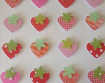 Sweet strawberry frame