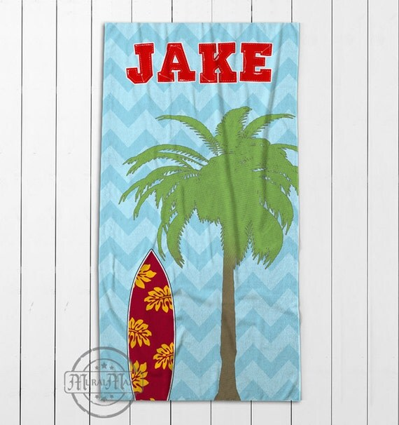 Personalized Beach Towel For Toddler: Items Similar To Beach Towel