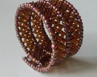 Bracelet Cuff (Brown)