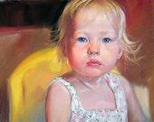 Custom portrait from photo. Portrait painting. Pastel portraits. Kids, family portraits. Original art