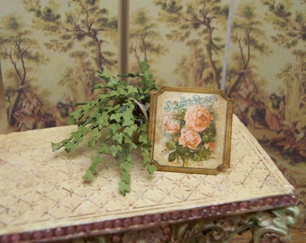 Dollhouse  Miniature Sign
