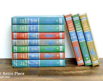 Collier's Junior Classics - complete set of 10 books - First Edition, 1962