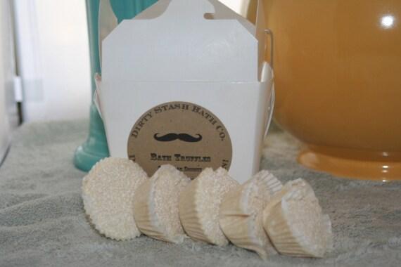 Coco Butter Bath Truffles natural Vanilla Grapefruit