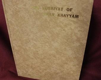 The Rubaiyat of Omar Khayyam translated by Omar Edward Fitzgerald