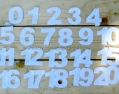 Felt Numbers Set (0 - 20) for Felt Board