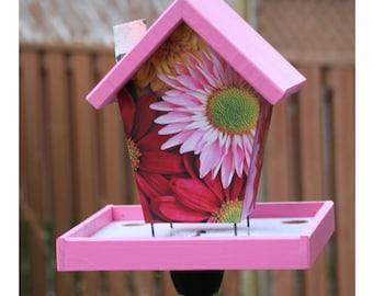 Flowers Bird Feeder