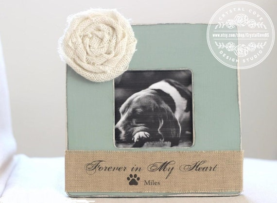 Pet Loss Memorial Personalized Gift Picture Frame By
