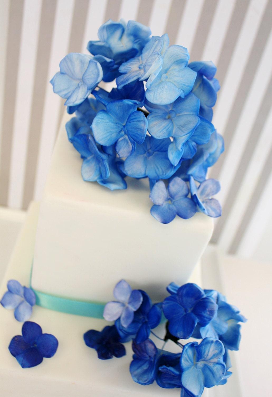 SALE Hydrangea Bunch Cake Decoration Kit 4 by