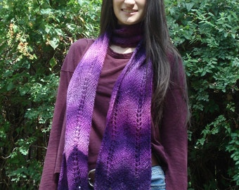 Pink/Purple Ombre Scarf