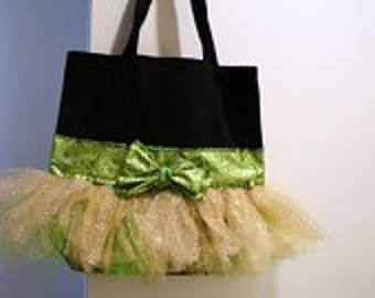 Tutu bag, cheer bag, gymnastics bag, dance bag, wedding bag, ballet bag