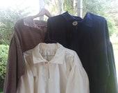 Men's 19th Century Pioneer Plain Shirts -- XL, 2XL, 3XL and Beyond