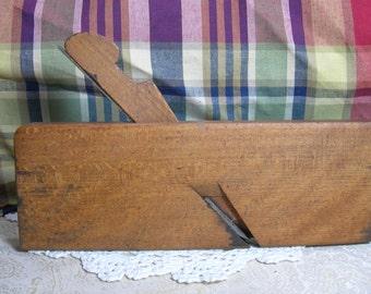 Quartersawn Oak 3/8 A. Hammacher and Co. Carpenter's Moulding Plane
