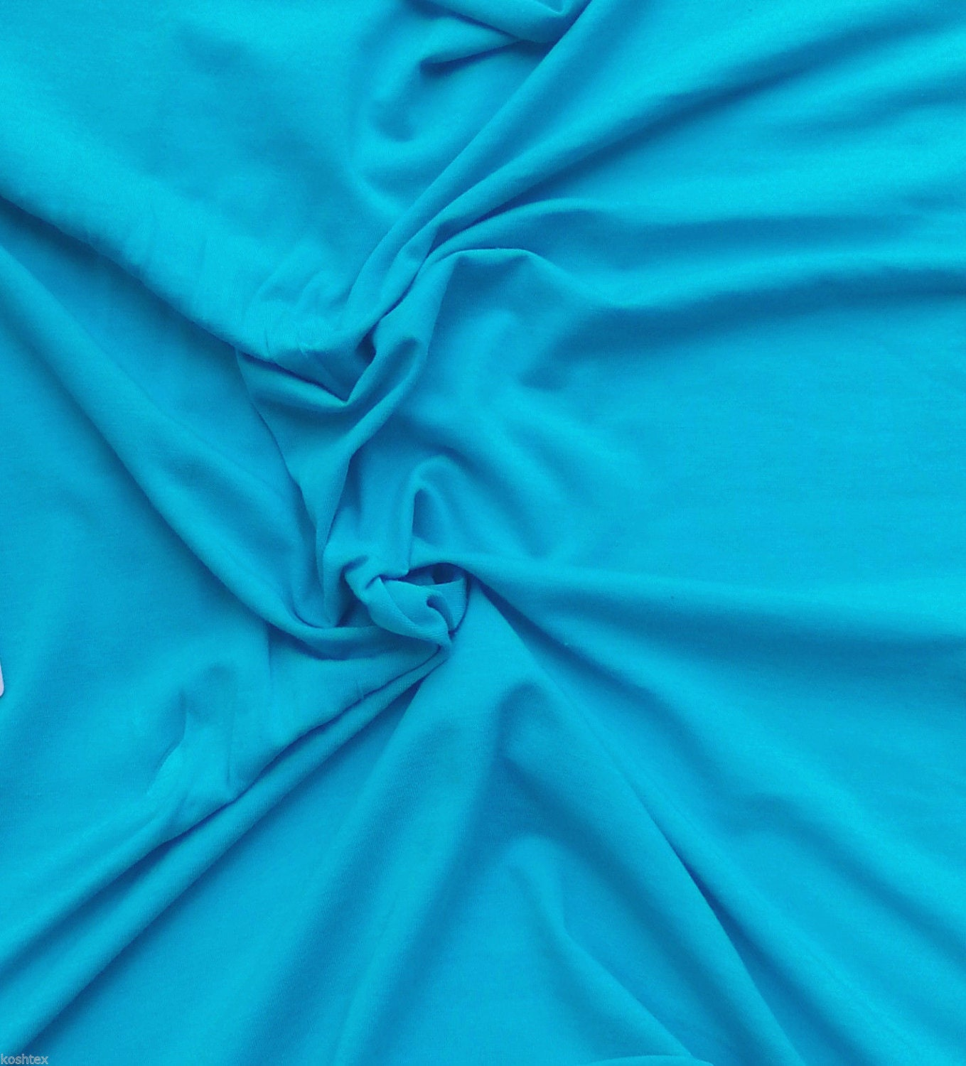 modal cotton spandex fabric jersey knit by the yard scuba blue. Black Bedroom Furniture Sets. Home Design Ideas