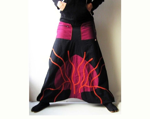 Women's Aladdin Pants. We call them Aladdin pants, and I have heard people calle them Genie pants, and they are also sometimes called Afghan rabbetedh.ga The perfect pants for women to perform yoga or other activities in. Loose fitting, lightweight rabbetedh.ga is made out of elastic material to adjust for different sizes.