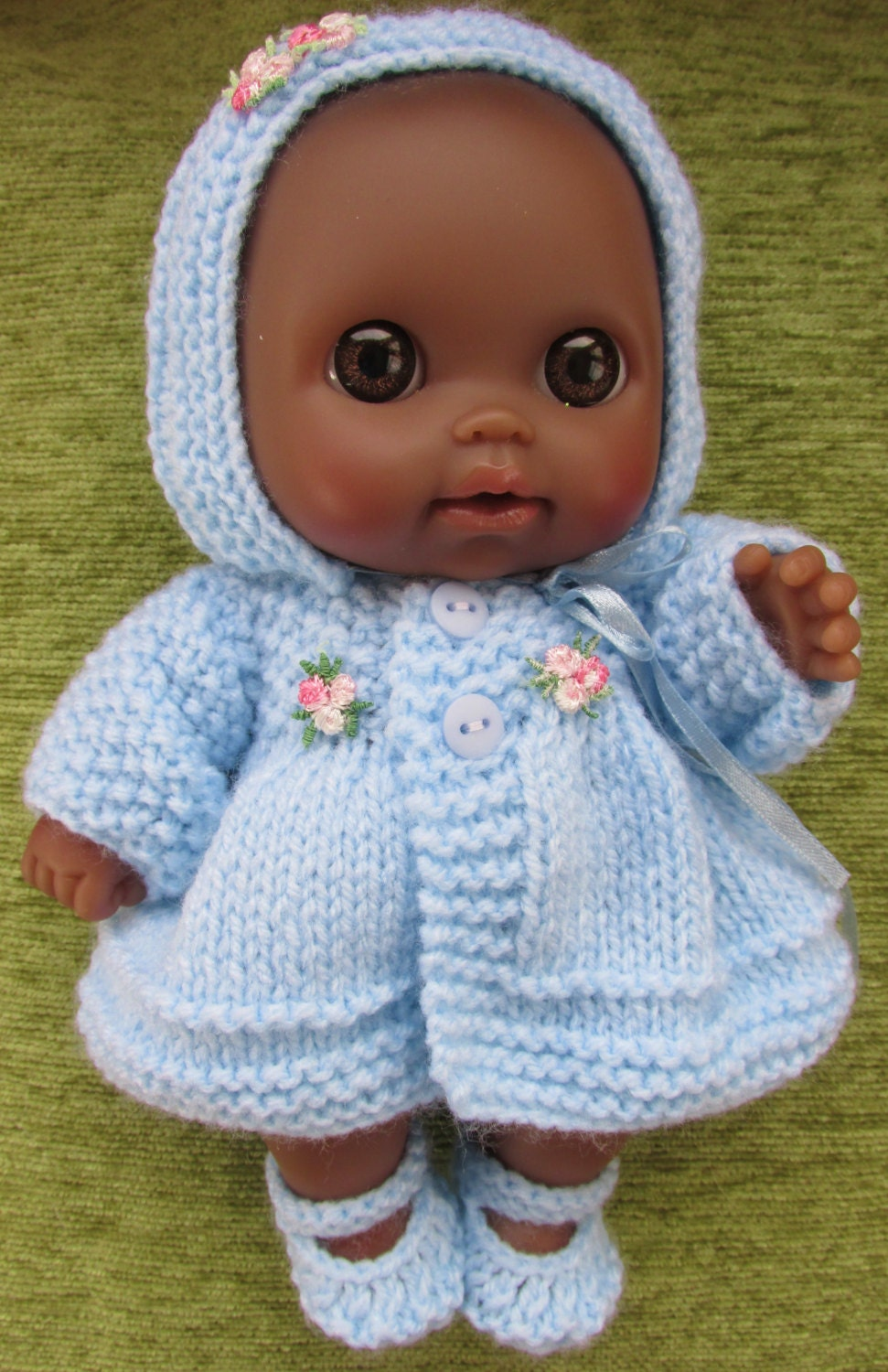 Knitting Patterns For 8 Berenguer Doll Clothes : Knitting Pattern for Berenguer Lil Cutesies Dolls Clothes