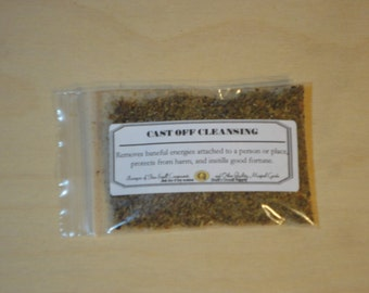 Cast Off Cleansing--Spell Powder