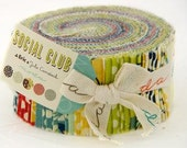 CLOSE OUT SALE Social Club Jelly Roll by Eric and Julie Comstock for Moda
