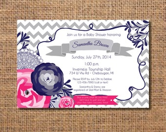 baby shower schedule events wedding of personalized custom printed