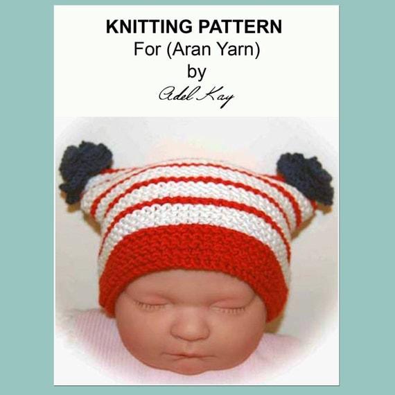Knitting Pattern PDF Document Ciara Patriotic Uk Usa Flag