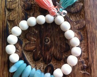 Bohemian yogi bracelet