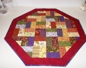Sale - Autumn's Glory Octagonal Table Runner