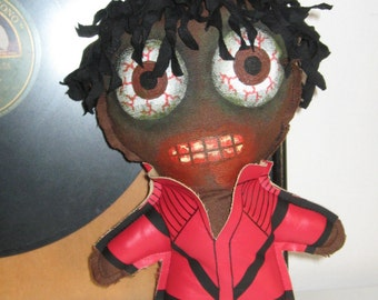 Michael Jackson Thriller  Zombie doll  9 inches 22 cm