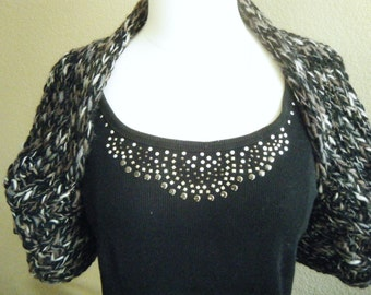 Hand Knit Bolero or Shrug.