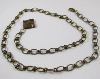 Olive Green Chain Belt