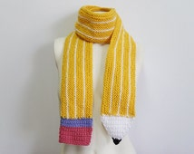 Knit / Pencil Scarf (Please read AVAILABILITY)